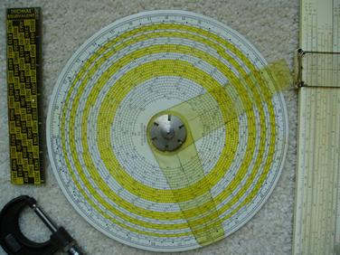5-Digit Circular Slide Rule